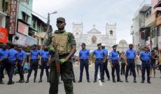 На Шри-Ланке бомба была прикреплена к мотоциклу, оставленному у кинотеатра