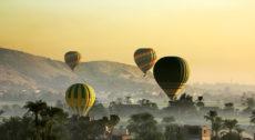 Египет: Луксор занял второе место в мировом рейтинге полетов на воздушном шаре для туристов