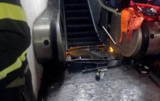 При аварии эскалатора в римском метро россиянин потерял ногу