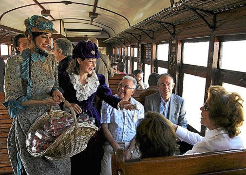 Путешествие на поезде в прошлое региона Мадрида