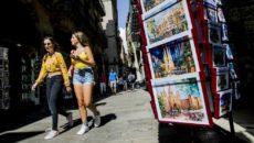 В Испании выросло число иностранных туристов