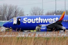В США при аварийной посадке самолета Southwest Airlines погиб пассажир