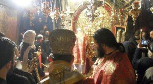 В Вифлееме, в ночь Рождения Христа