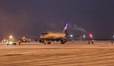 Выполнению рейсов «Аэрофлота» вновь помешала погода